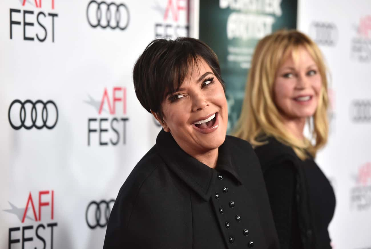 Kris Jenner is listed (or ranked) 3 on the list 15 Celebrities Who Are Total Slytherins