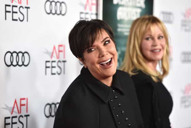 Kris Jenner is listed (or ranked) 4 on the list 15 Celebrities Who Are Total Slytherins