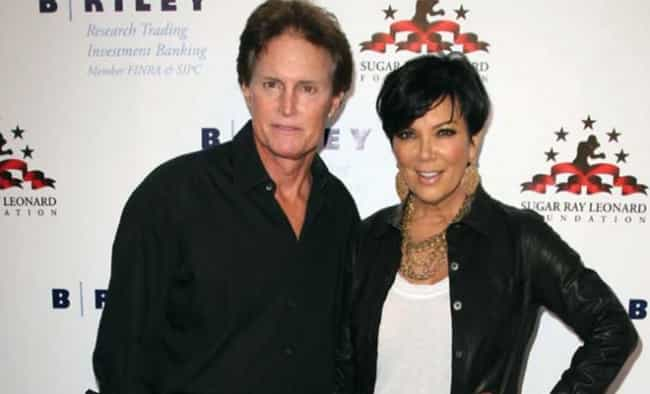 Kris Jenner is listed (or ranked) 6 on the list 20 Famous Long-Term Couples That Split