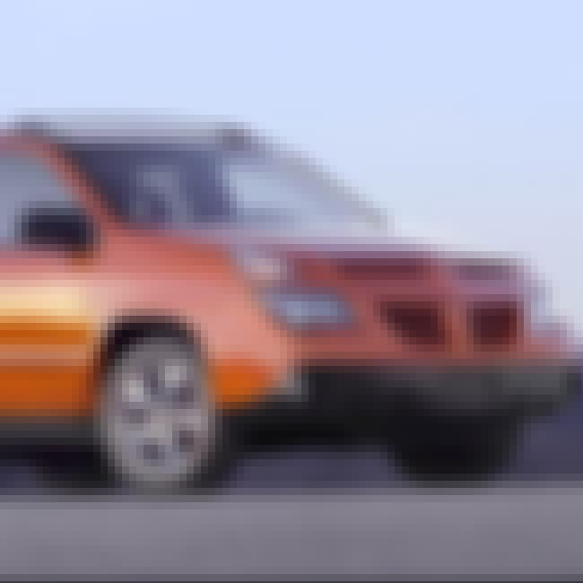 2004 Pontiac Aztek SUV FWD is listed (or ranked) 4 on the list List of Popular Pontiac SUV FWDs