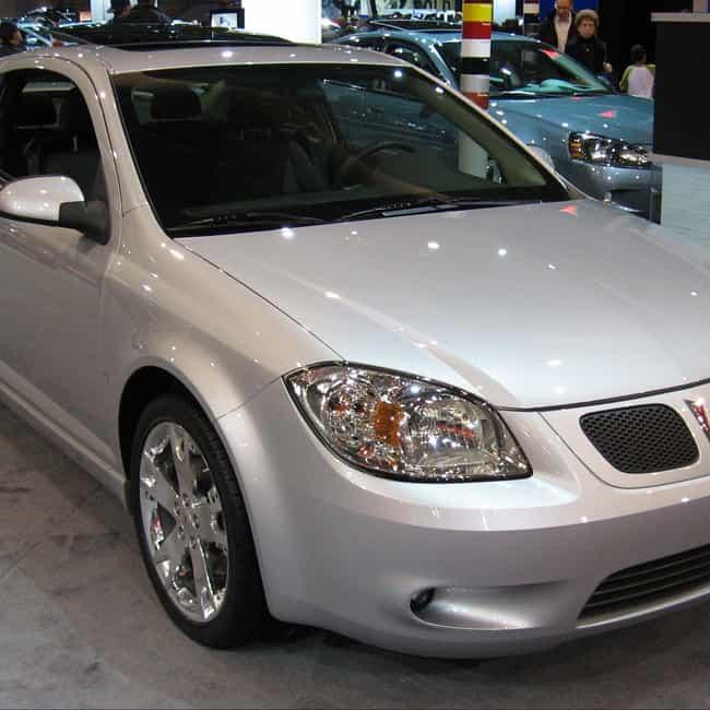 2007 Pontiac G5 is listed (or ranked) 1 on the list List of 2007 Pontiacs