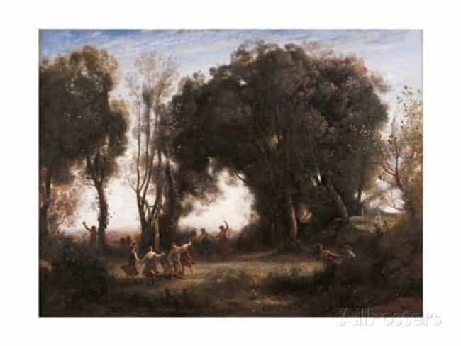 Morning. Dance of the Ny... is listed (or ranked) 3 on the list Famous Jean-Baptiste Camille Corot Paintings
