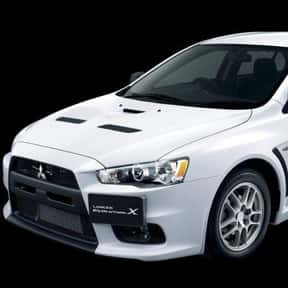 2008 Mitsubishi Lancer Evoluti is listed (or ranked) 4 on the list The Best Sedans of All Time