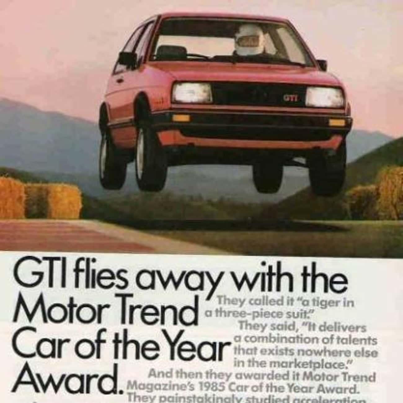 1985 Volkswagen GTI is listed (or ranked) 2 on the list List of Popular Volkswagen Passenger Cars Hatchbacks