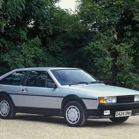 1985 Volkswagen Scirocco is listed (or ranked) 21 on the list List of Popular Hatchbacks