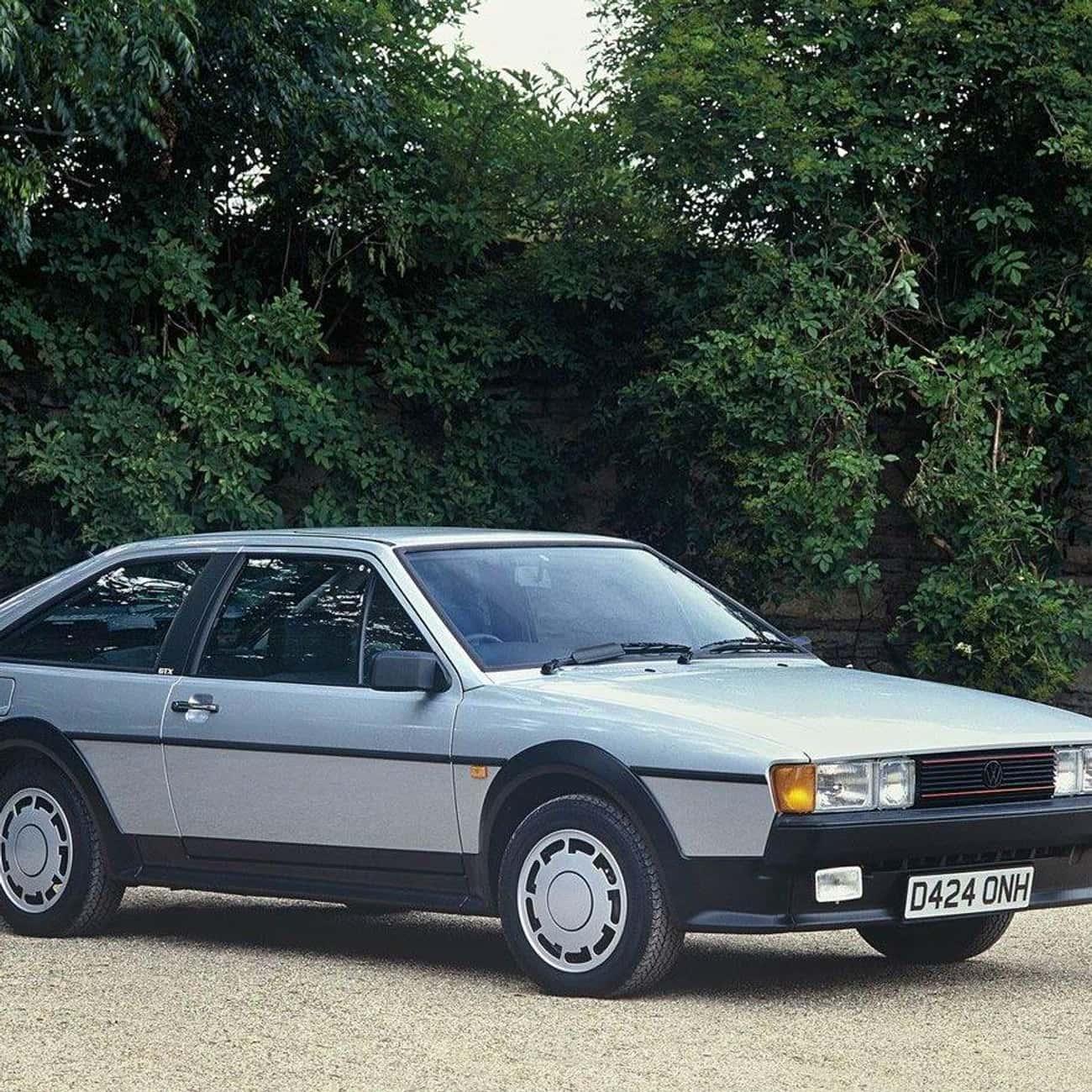 1985 Volkswagen Scirocco is listed (or ranked) 4 on the list List of Popular Volkswagen Passenger Cars Hatchbacks