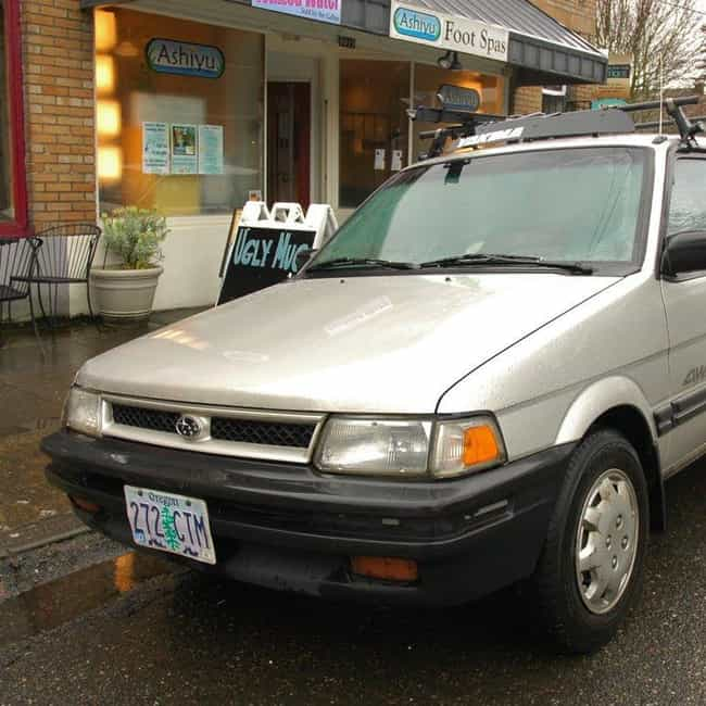 1990 Subaru Justy Hatchb... is listed (or ranked) 2 on the list List of 1990 Subarus