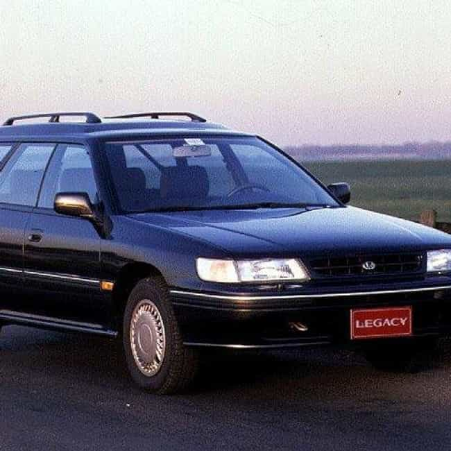 1992 Subaru Legacy Station Wag... is listed (or ranked) 3 on the list The Best Subaru Legacys of All Time