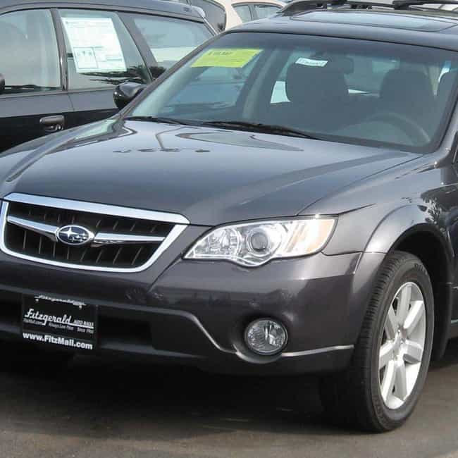 2008 Subaru Outback is listed (or ranked) 3 on the list The Best Subaru Outbacks of All Time
