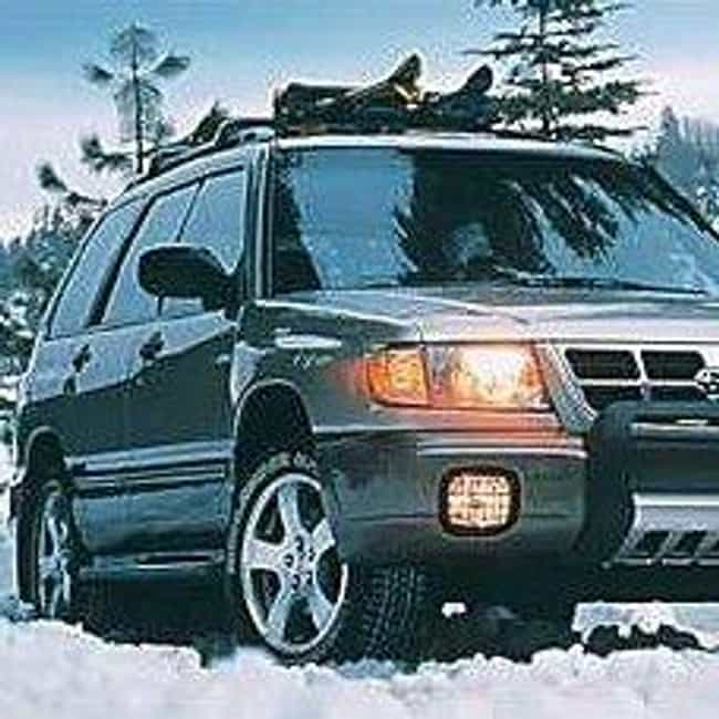 2000 Subaru Forester is listed (or ranked) 5 on the list The Best Subaru Foresters of All Time
