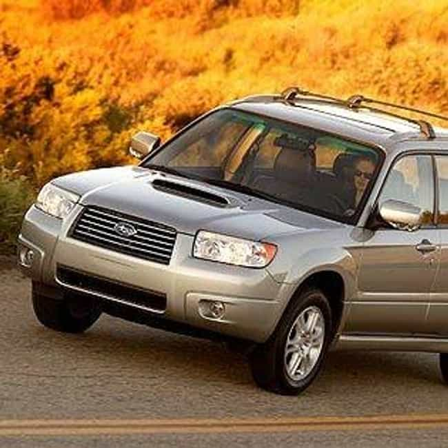 2006 Subaru Forester is listed (or ranked) 4 on the list The Best Subaru Foresters of All Time