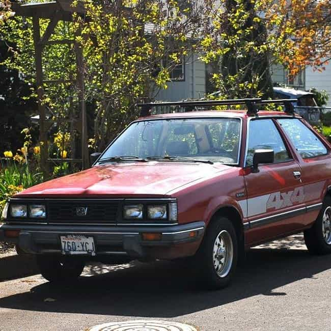 1988 Subaru Hatchback Hatchbac... is listed (or ranked) 2 on the list List of 1988 Subarus