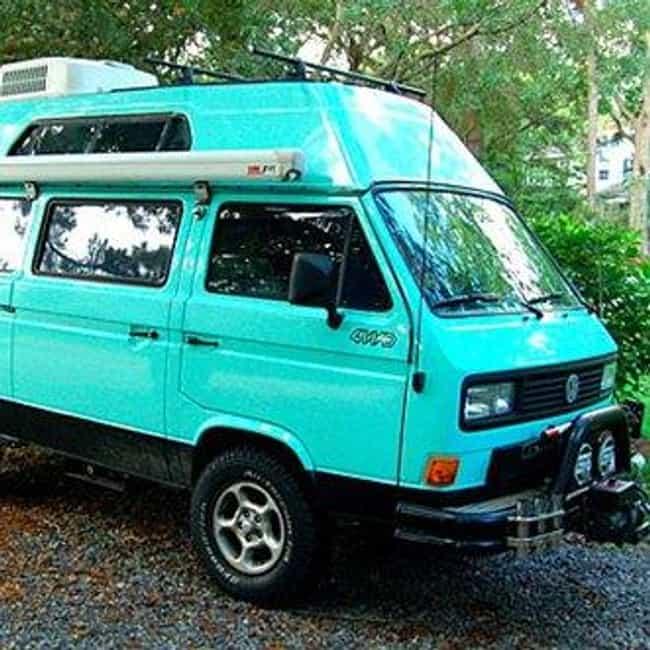 List of Popular Volkswagen Passenger Cars Van 4WD Syncros