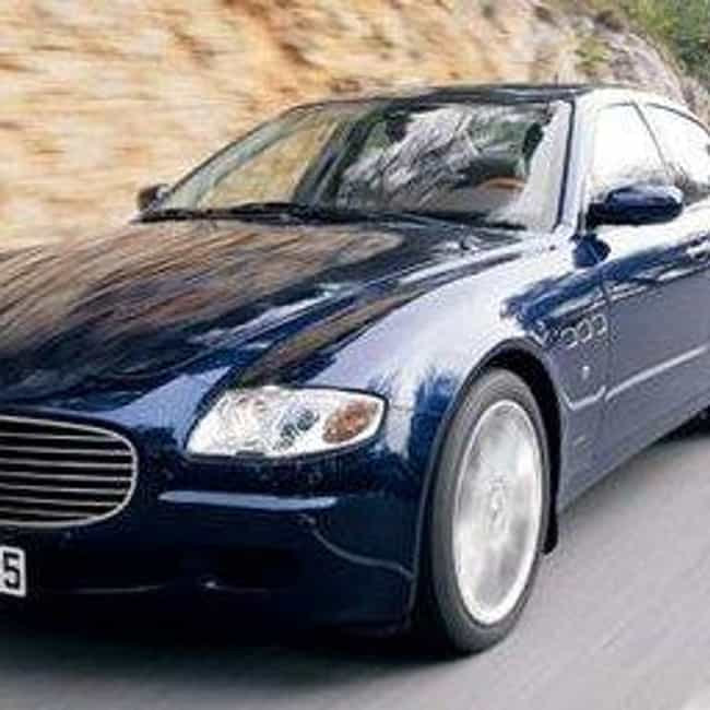 2007 Maserati Quattropor... is listed (or ranked) 1 on the list The Best Maserati Quattroportes of All Time