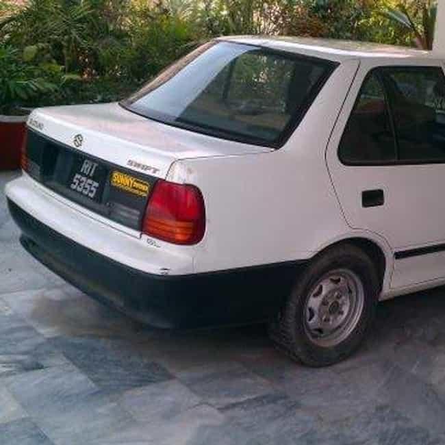 All Suzuki Sedans List Of Sedans Made By Suzuki