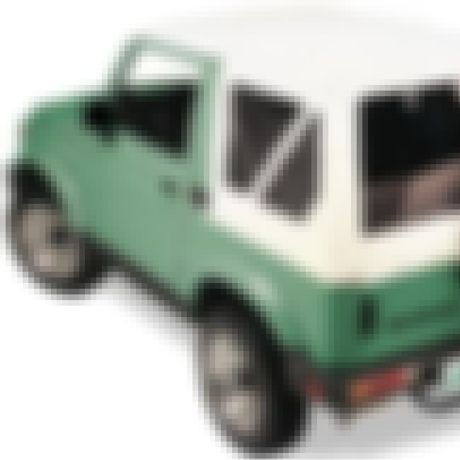 1991 Suzuki Samurai SUV Soft-t... is listed (or ranked) 2 on the list List of Popular Suzuki SUV Soft-top 4WDs