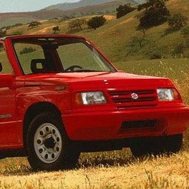 1996 Suzuki Sidekick SUV Sport... is listed (or ranked) 1 on the list The Best Suzuki Escudos of All Time