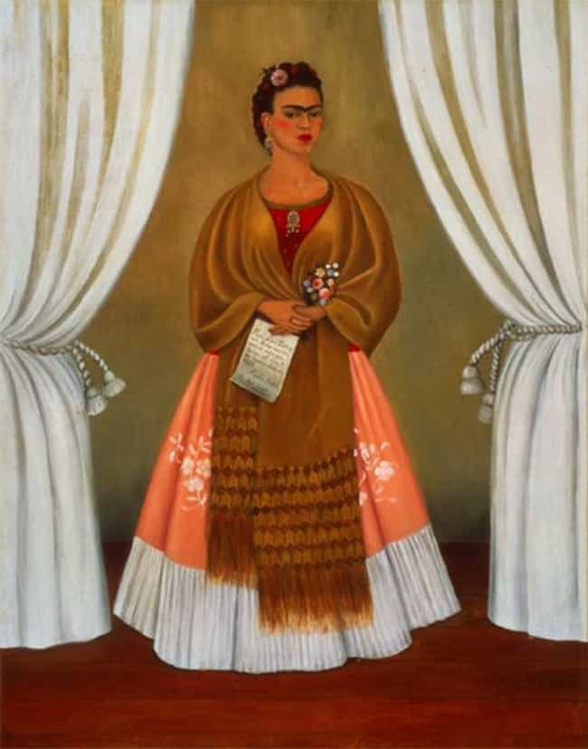 Self-Portrait Dedicated ... is listed (or ranked) 4 on the list Famous Frida Kahlo Paintings