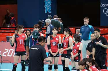 Ai Ōtomo is listed (or ranked) 1 on the list Famous Volleyball Players from Japan