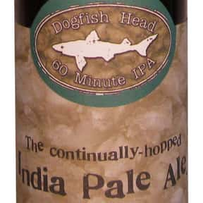 Dogfish Head 60 Minute IPA is listed (or ranked) 4 on the list The Best Dogfish Head Beers