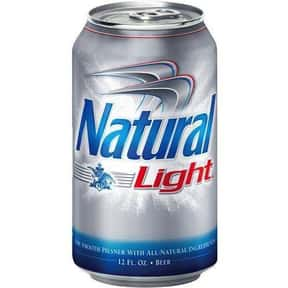Natural Light is listed (or ranked) 3 on the list The Best Beers to Chug