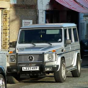 2008 Mercedes-Benz G-Class is listed (or ranked) 5 on the list The Best Sport Utility Vehicles of All Time