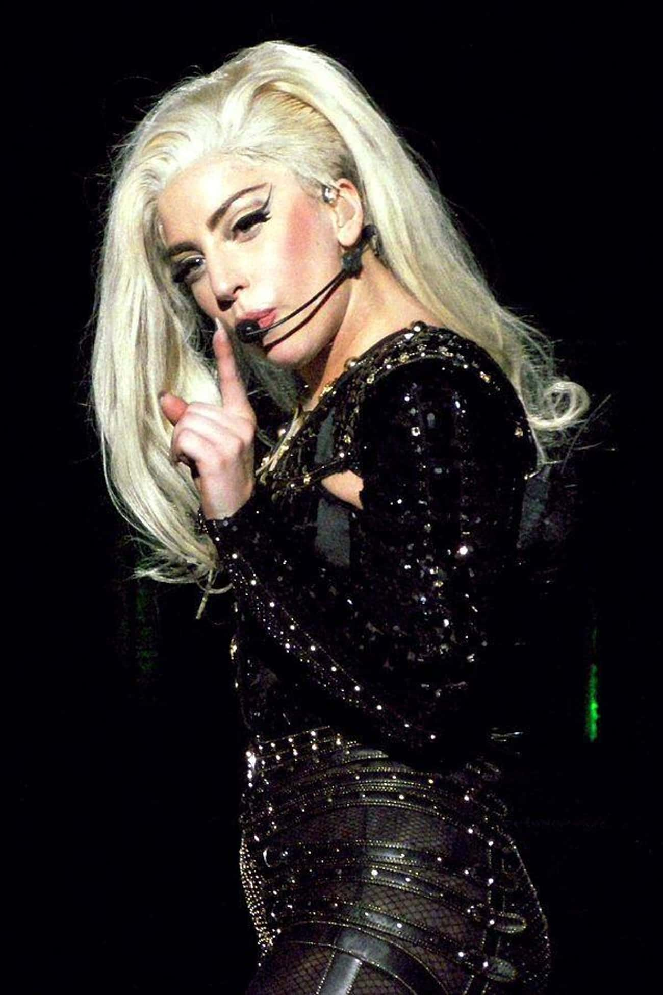 Lady Gaga is listed (or ranked) 3 on the list Famous People with Rolls Royces