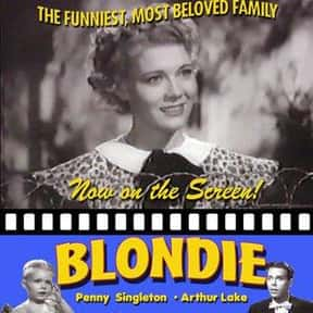 Blondie is listed (or ranked) 21 on the list The Best Sitcoms from the 1950s