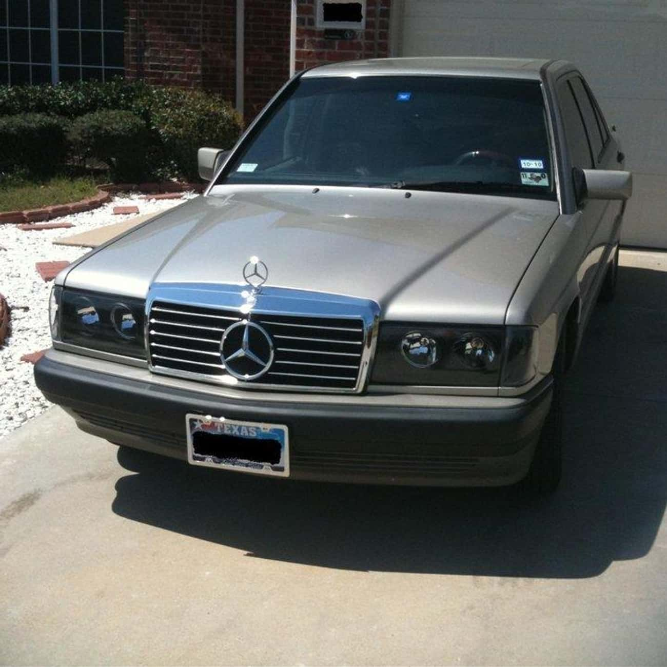 1992 Mercedes-Benz 190 is listed (or ranked) 1 on the list List of 1992 Mercedes-Benzs