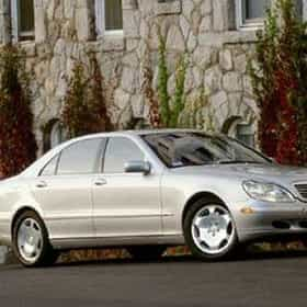 2002 Mercedes Benz S Cl S600 Sedan