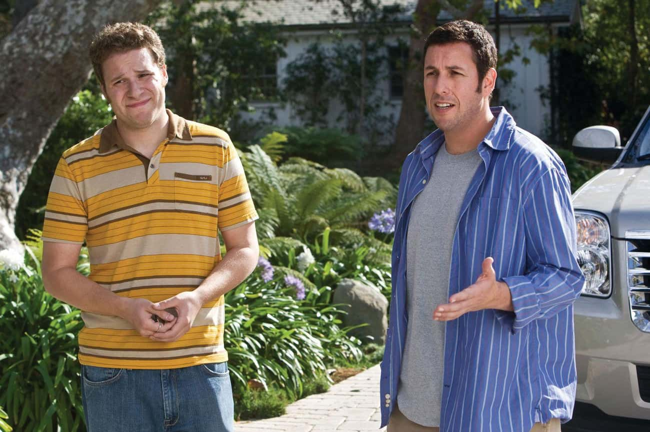 Funny People (2009) is listed (or ranked) 4 on the list A History Of Adam Sandler's Occasional Detours Into Serious Movies