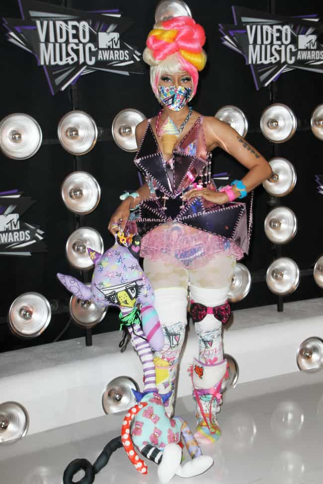 Nicki Minaj is listed (or ranked) 4 on the list Celebrity Halloween Costume Ideas