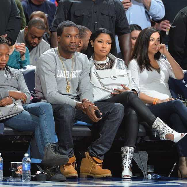 Nicki Minaj is listed (or ranked) 2 on the list Celebrity 76er Fans