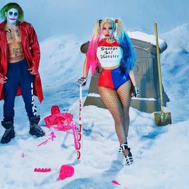 Nicki Minaj And Kenneth Petty As Harley Quinn And The Joker