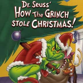 Dr. Seuss' How the Grinch  is listed (or ranked) 4 on the list The Best Animated Films Ever