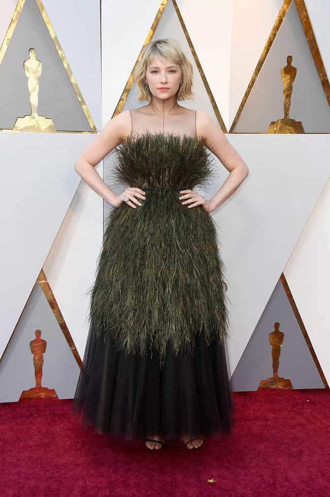 Haley Bennett is listed (or ranked) 1 on the list Worst Dressed At The 2018 Academy Awards