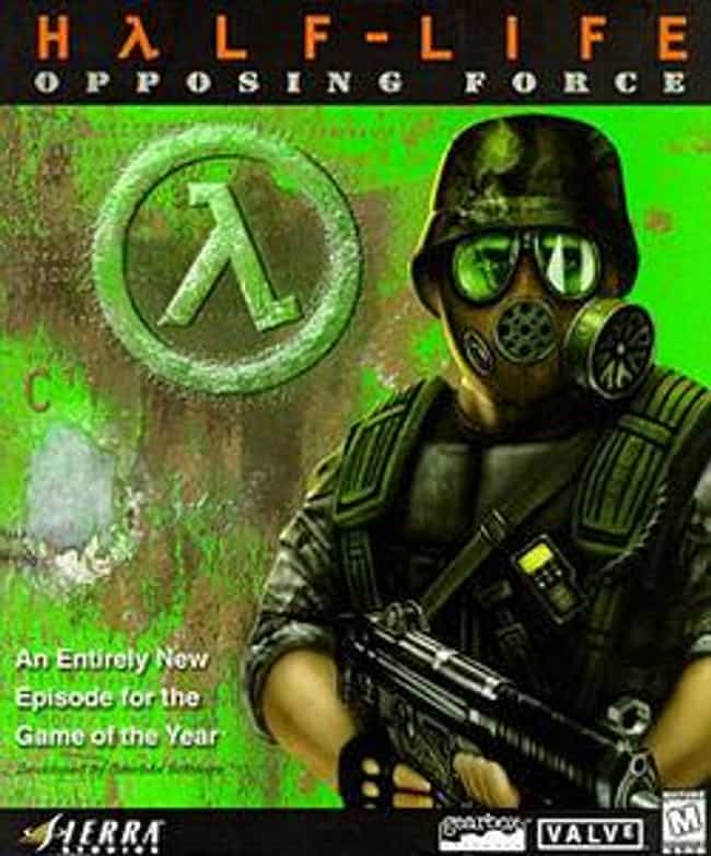 Half-Life: Opposing Forc... is listed (or ranked) 4 on the list The Best Half-Life Games