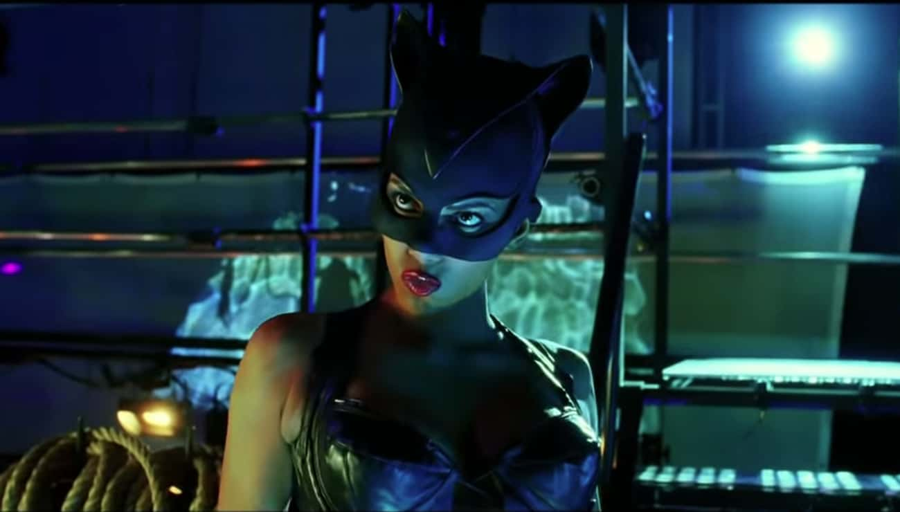 Halle Berry In 'Catwoman' is listed (or ranked) 2 on the list The Worst Superhero Performances In Comic Book Movies