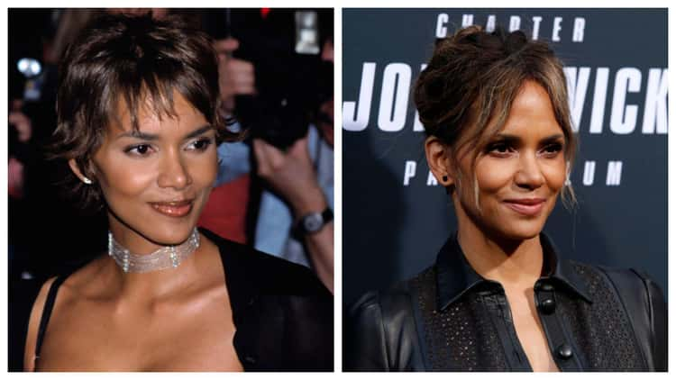 Halle Berry, 18-Year Difference