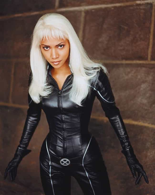 Halle Berry is listed (or ranked) 3 on the list 40+ Actors Who Played Superheroes