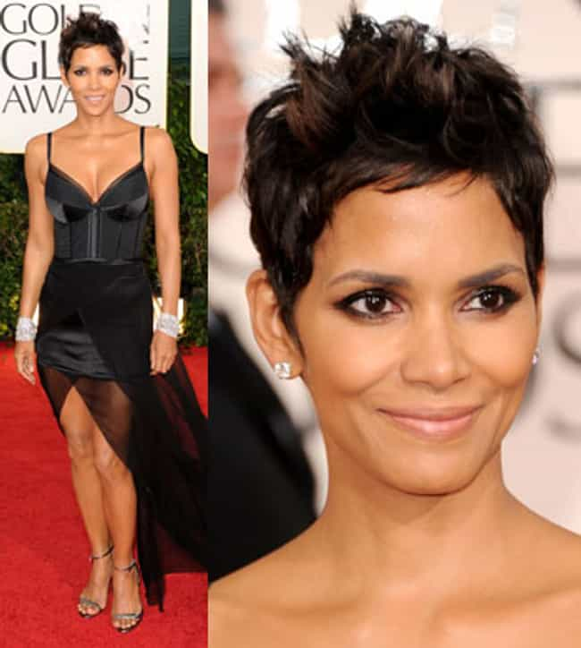 Halle Berry is listed (or ranked) 4 on the list My God, You Make That Dress Look Good!