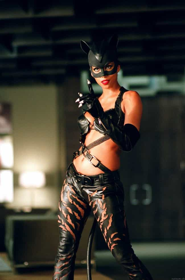 Halle Berry is listed (or ranked) 3 on the list Catsuits