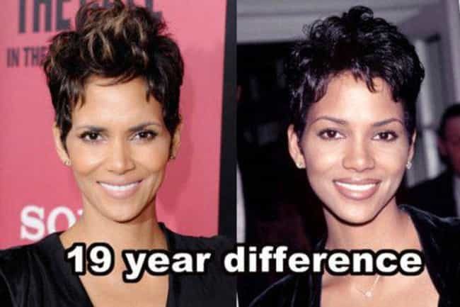 Halle Berry is listed (or ranked) 3 on the list 21 Celebrities Who Never Seem to Age a Day