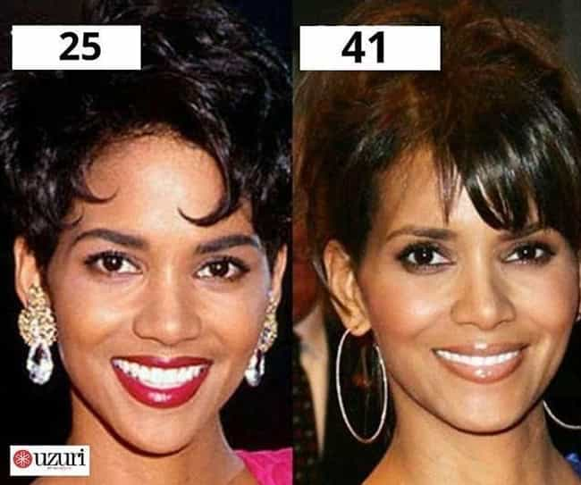 Halle Berry is listed (or ranked) 4 on the list 20 Celebrities Who Never Seem to Age a Day