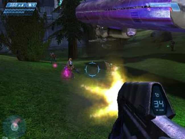 Halo: Combat Evolved is listed (or ranked) 8 on the list Classic Video Games That Actually Aren't Very Good