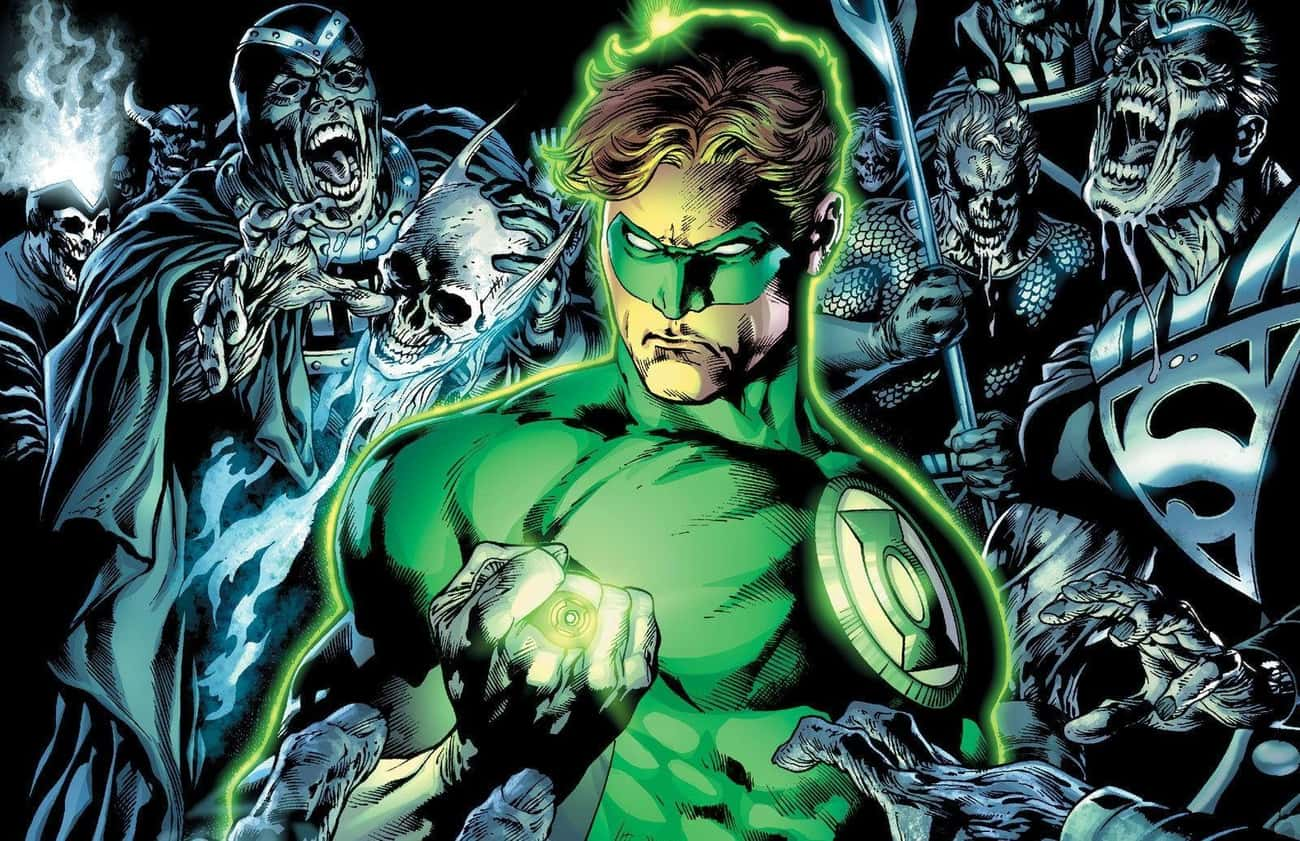 """In brightest day, in blac is listed (or ranked) 4 on the list The Best Superhero Catchphrases in Comics"