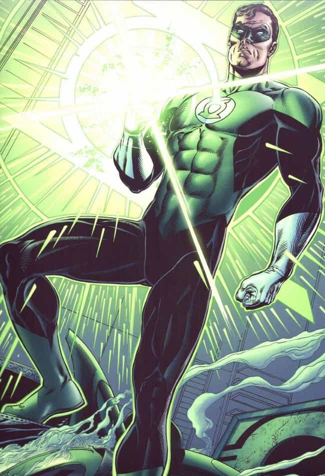 Hal Jordan is listed (or ranked) 1 on the list 7 Comic Book Characters Who Unfortunately Were Cut From Movies