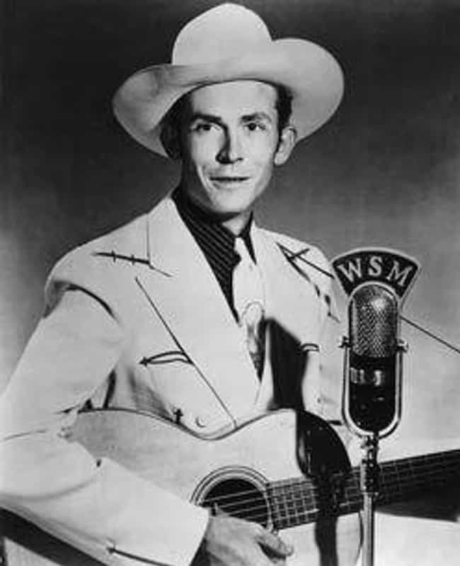 Hank Williams is listed (or ranked) 3 on the list Country Singers Who Have Struggled with Alcoholism