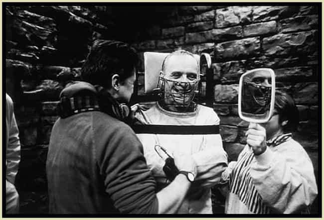 Hannibal Lecter is listed (or ranked) 3 on the list 53 Behind The Scenes Photos Of Movie Villains
