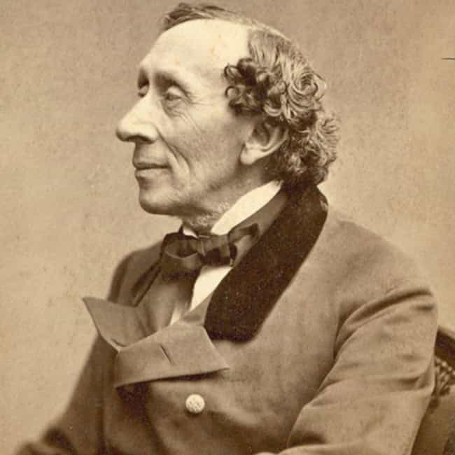 Hans Christian Andersen ... is listed (or ranked) 2 on the list Historical Figures Who Had Mental Illnesses or Crippling Phobias